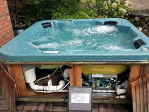 repair a hot tub leak