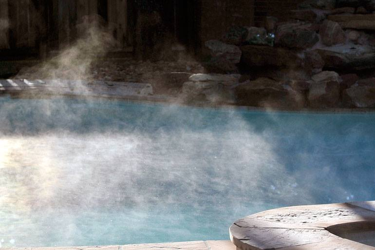 How to slow evaporation in pool