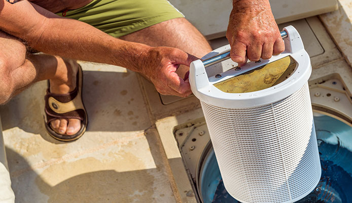 How to change pool filter sand: step-by-step instruction