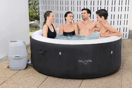 Bestway - SaluSpa Miami — the fastest and most efficient heating