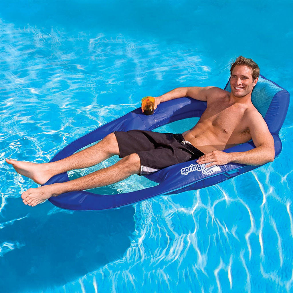 SwimWays - Spring Float Recliner XL — the most comfortable