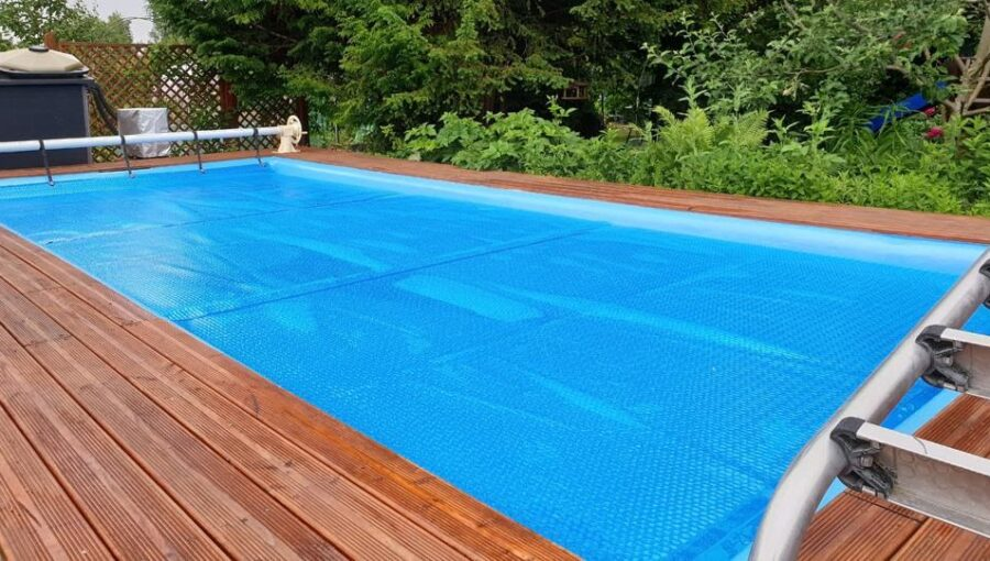 Step 3 — Attach the solar cover to your pool