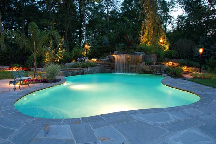 clear pool