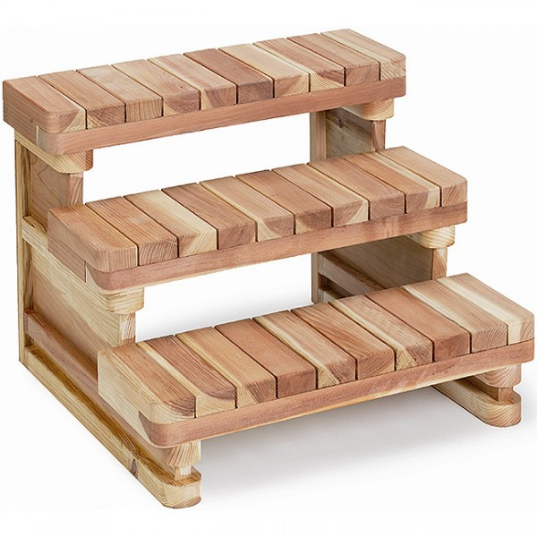 2, 3, and 4 tier steps