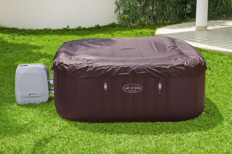 How to store your inflatable hot tub
